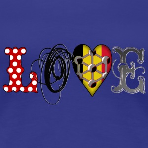 Love Brussels Black T-Shirts - Women's Premium T-Shirt