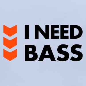 I Need Bass Accessories - Baby økologisk hagesmæk