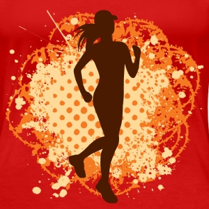 Cross country female T-shirt - Women's Premium T-Shirt