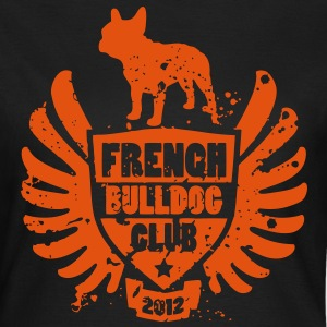 French Bulldog Club 2012 T-shirts - Dame-T-shirt
