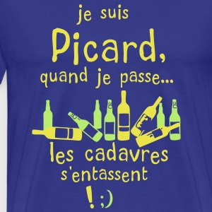 picard cadavre entasse bouteille alcool Tee shirts - T-shirt Premium Homme