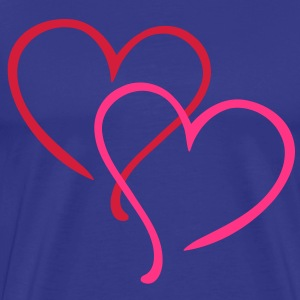Love Heart T-Shirts - Men's Premium T-Shirt