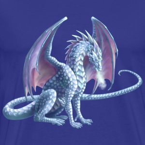 ice dragon - Men's Premium T-Shirt