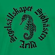 Motiv ~ Sjöhästen Klassisk T-shirt herr