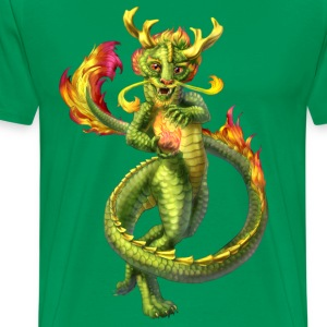 chinese anthro dragon - Men's Premium T-Shirt