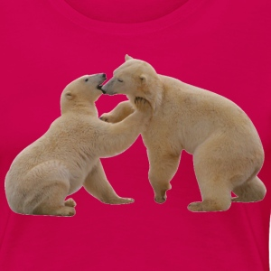 Polar Bears - Women's Premium T-Shirt