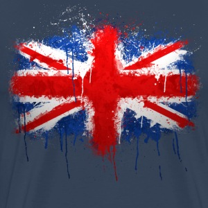 Union Jack Graffiti - Men's Premium T-Shirt