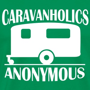 Caravanholics Anonymous T-Shirts - Men's Premium T-Shirt