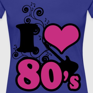 i love 80's - Women's Premium T-Shirt