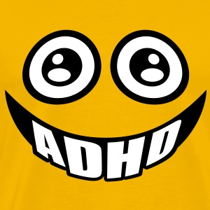 ADHD smile T-Shirts - Premium T-skjorte for menn