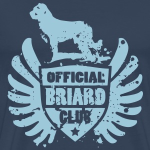 OFFICIAL BRIARD CLUB T-shirts - Mannen Premium T-shirt