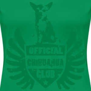 OFFICIAL CHIHUAHUA CLUB T-shirts - Vrouwen Premium T-shirt