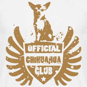 OFFICIAL CHIHUAHUA CLUB T-skjorter - T-skjorte for menn