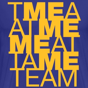 The M E in team - Men's Premium T-Shirt