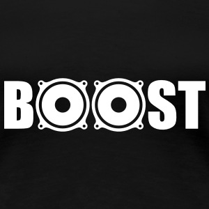 Bass Boost T-Shirts - Premium T-skjorte for kvinner