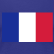 Motif ~ Supportrice Française bleu blanc rouge