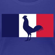 Motif ~ tshirt supportrice France