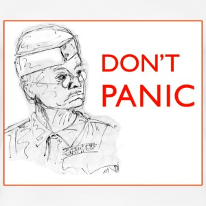 Dad's Army Jones - Don't panic T-Shirts - Women's Premium T-Shirt