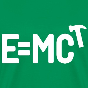 E = MC Hammer - Men's Premium T-Shirt