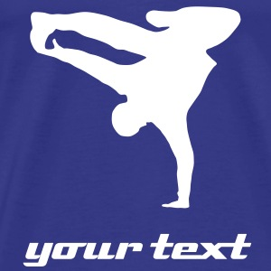 Breakdancer, B-Boy T-Shirts - Mannen Premium T-shirt