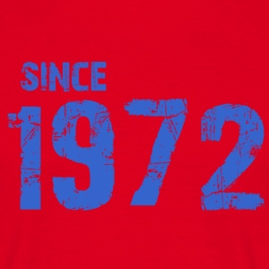 Since 1972 - Mannen T-shirt