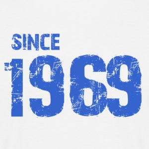 Since 1969 - Mannen T-shirt