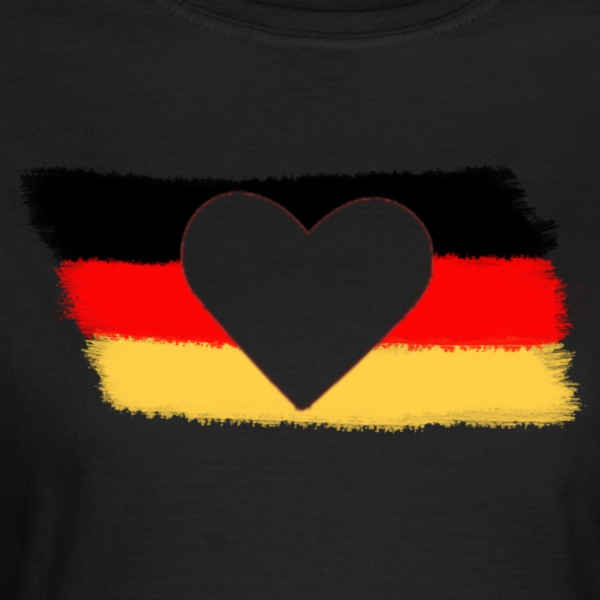 Oliven Germany T-shirts - Dame-T-shirt