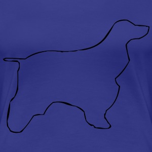 Cocker Spaniel Dog T-Shirts - Women's Premium T-Shirt