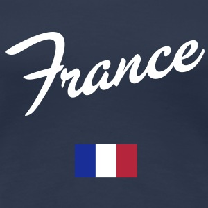 France T-Shirt - Frauen Premium T-Shirt