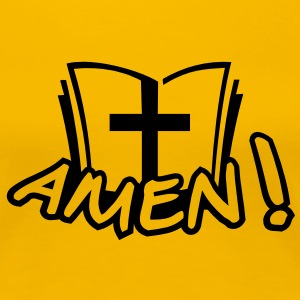 amen T-Shirts - Frauen Premium T-Shirt