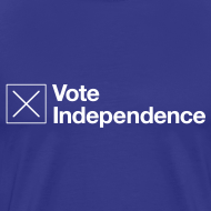 Design ~ Vote Independence T-Shirt
