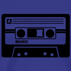 Kassette Cassette Audio Tape 80s T-Shirts - Men's Premium T-Shirt