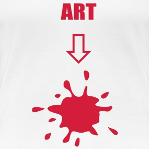 Art, arts T-Shirts - Women's Premium T-Shirt