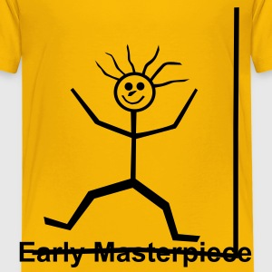 Stickman - Early Masterpiece - Kids' Premium T-Shirt