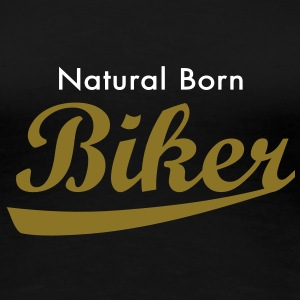 evolution_biker T-shirts - Vrouwen Premium T-shirt