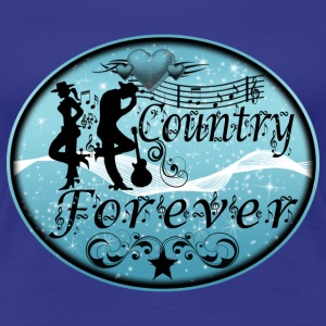 country forever Tee shirts - T-shirt Premium Femme