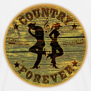 country forever T-Shirts - Men's T-Shirt