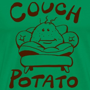 Couch Potato - Männer Premium T-Shirt