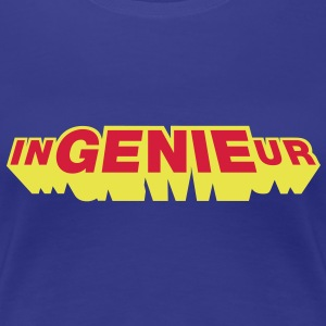 inGENIEur, Superheld, Girlie - Frauen Premium T-Shirt