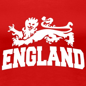 england with lion T-Shirts - Frauen Premium T-Shirt