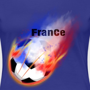 Supporter de la France - T-shirt Premium Femme