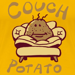 Couch potato T-Shirts - Frauen Premium T-Shirt