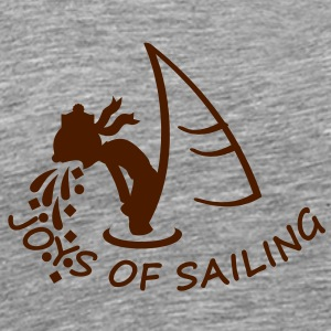 joys of sailing (1c) T-Shirts - Männer Premium T-Shirt