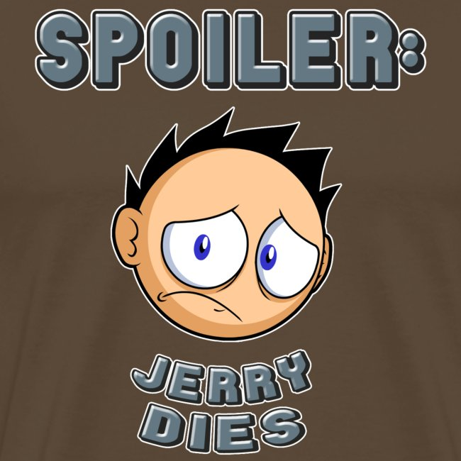 JERRY: spoiler shirt