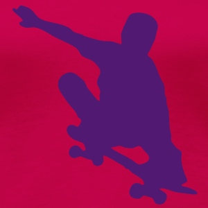 skater flying T-shirts - Vrouwen Premium T-shirt