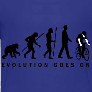 evolution_radfahrer_052012_c_2c Kinder T-Shirts - Teenager Premium T-Shirt