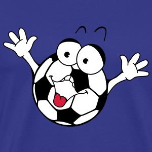 Happy football T-shirt - Maglietta Premium da uomo