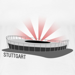 Stuttgart Fussballstadion for Girls - Frauen Premium T-Shirt