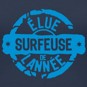 surfeuse elue annee meilleurs tampo Tee shirts - T-shirt Premium Femme