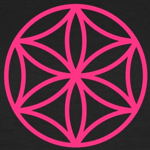 Flower of Aphrodite, c, Symbol of  love, beauty and transformation, Power Symbol, Talisman T-shirts - Dame-T-shirt